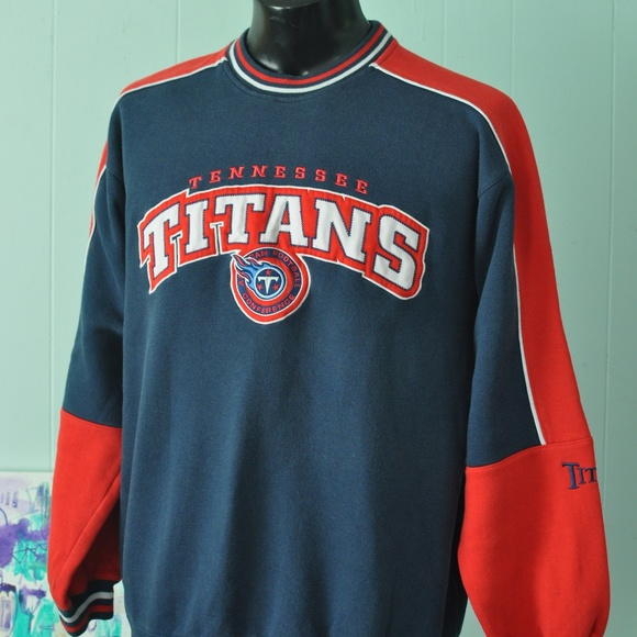 official photos d9ff9 b234c ⬇️ Faded Tennessee Titans Sweatshirt Vintage 90s